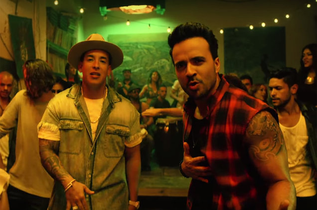 "Luis Fonsi ft. Daddy Yankee ""Despacito"""
