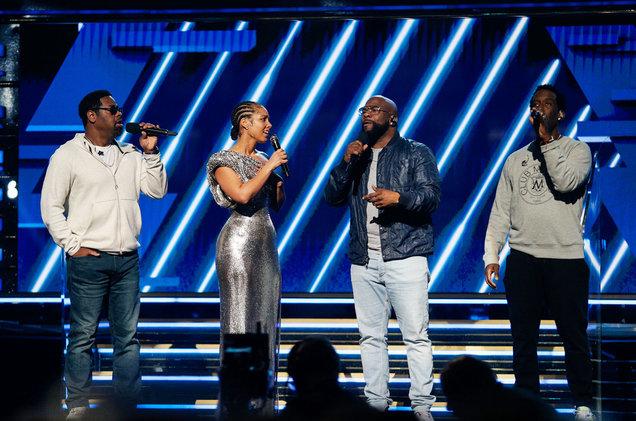 Alicia Keys and Boyz II Men