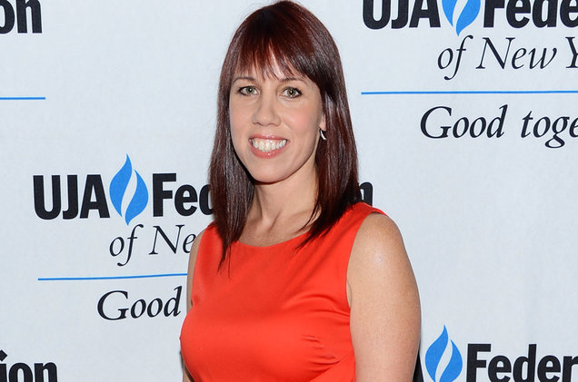 Amy Doyle attends the UJA-Federation's Music Visionary Of The Year Award Luncheon at The Pierre Hotel on July 12, 2012 in New York City.