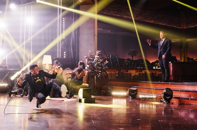 Gallant performs during The Late Late Show with James Corden on Nov. 2, 2016.