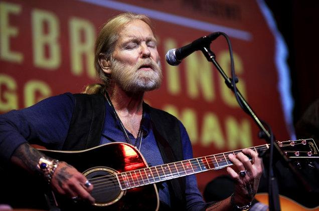 Gregg Allman performs in 2015