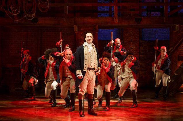 Original cast of Hamilton