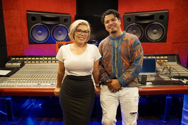 Julie Vasquez and E-Dub