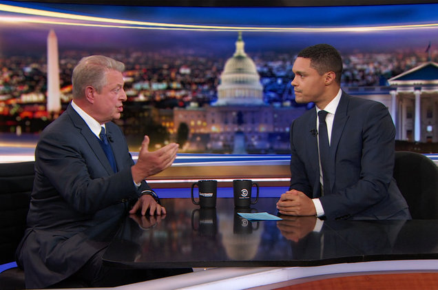 Al Gore on 'The Daily Show'