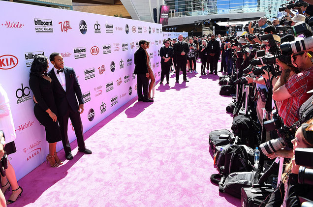 General view of the arrivals at The 2016 Billboard Music Awards at T-Mobile Arena on May 22, 2016 in Las Vegas.
