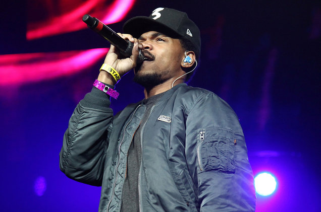 Chance the Rapper performs in 2016