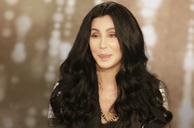 Cher appears on The Talk on Feb. 28, 2017 on the CBS Television Network.