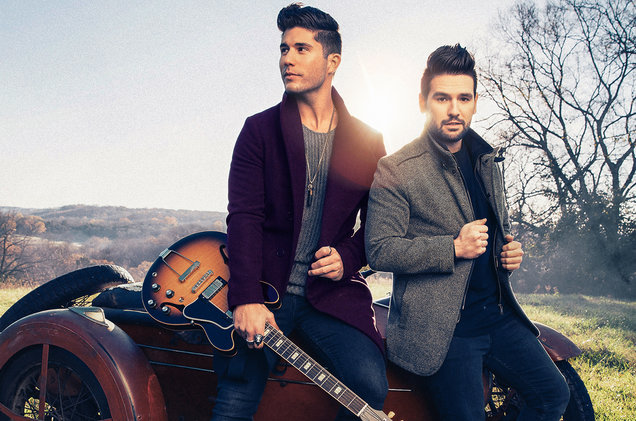 Dan+Shay photographed in 2016