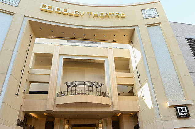 A general view of atmosphere outside Dolby Theatre on June 6, 2013 in Hollywood, California.