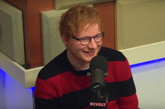 Ed Sheeran appears on the Breakfast Club.
