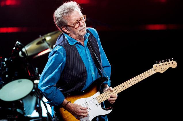 Eric Clapton performs at Royal Albert Hall