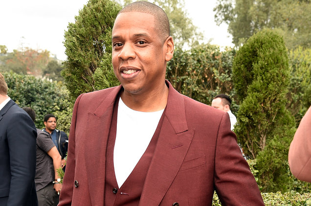 Jay Z attends 2017 Roc Nation Pre-Grammy brunch at Owlwood Estate on Feb. 11, 2017 in Los Angeles.