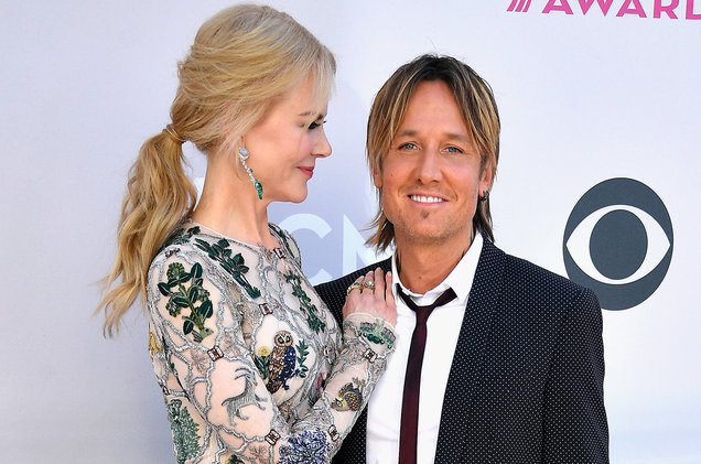 Nicole Kidman and Keith Urban attend the 52nd Academy Of Country Music Awards at Toshiba Plaza on April 2, 2017 in Las Vegas.