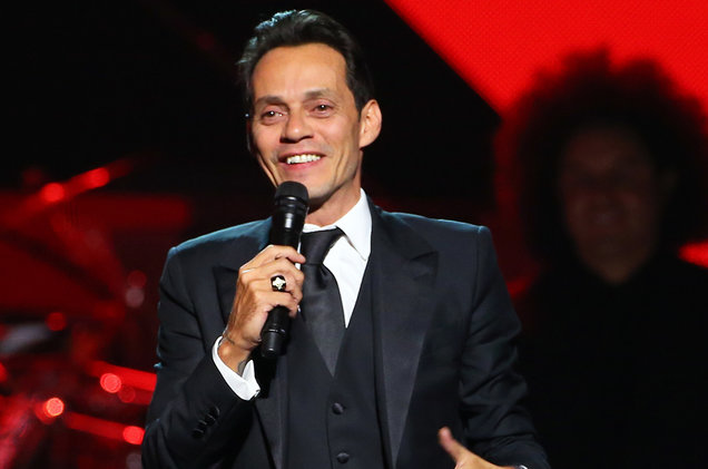 Marc Anthony during the 2016 Person of the Year