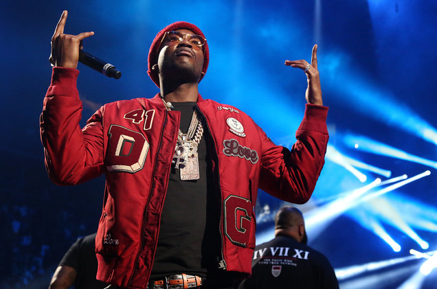Meek Mill performs in New York City
