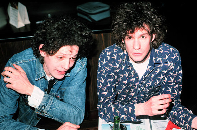 Slim Dunlap and Paul Westerberg of the Replacements in 1987 (Getty Images)