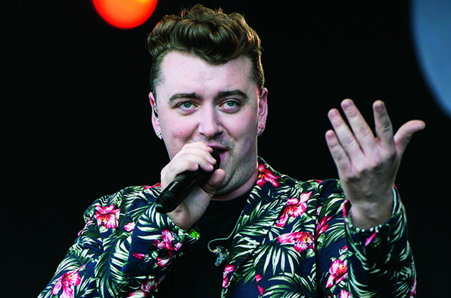 Sam Smith performs on the BBC Radio 1 stage at T in The Park