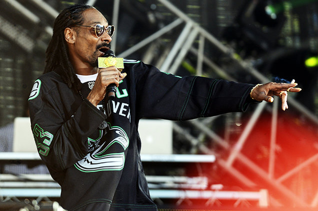 Snoop Dogg at Pemberton Music and Arts Festival