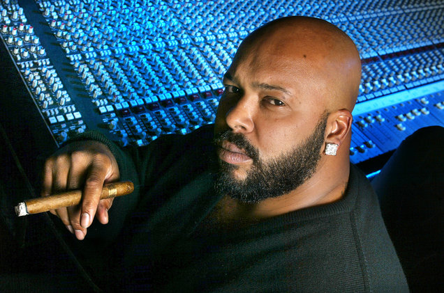 Suge Knight photographed on Nov. 30, 2002.