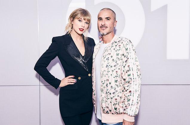 Taylor Swift and Zane Lowe