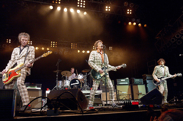 The Replacements perform at Midway Stadium on September 13, 2014 in St. Paul, Minnesota