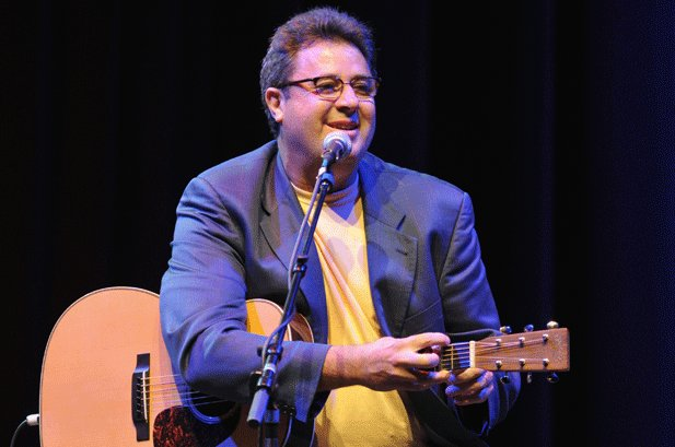 Vince Gill Didn't Have to 'Doll Up and Leave Town' to Record 'Guitar Slinger'
