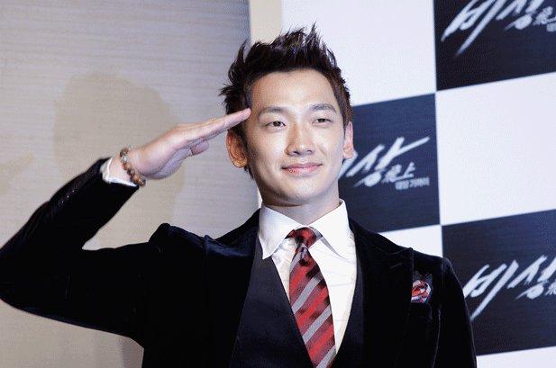K-Pop Star Rain Joins South Korean Army