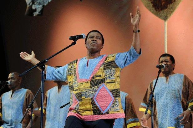 Ladysmith Black Mambazo Experimenting with Gospel Music