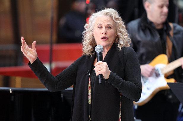 Carole King Wins Library of Congress Gershwin Award