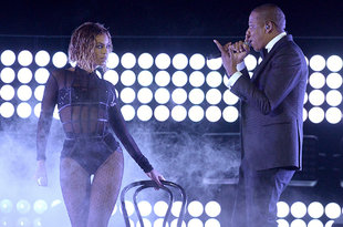 BEYONCE JAY Z SHOW PHOTOS