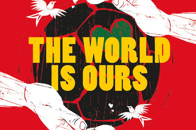 COKE WORLD IS OURS WORLD CUP LOGO