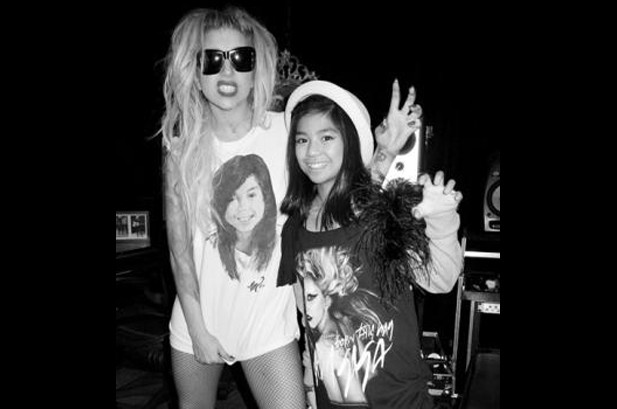 Lady Gaga Duets with 10-Year-Old Maria Aragon in Toronto