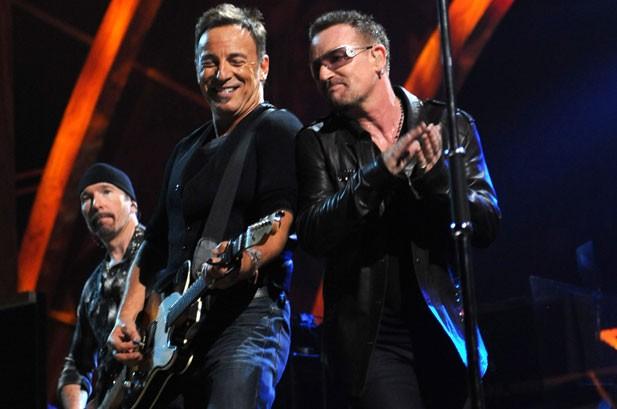 U2, Metallica, Jagger Celebrate Rock Hall Of Fame