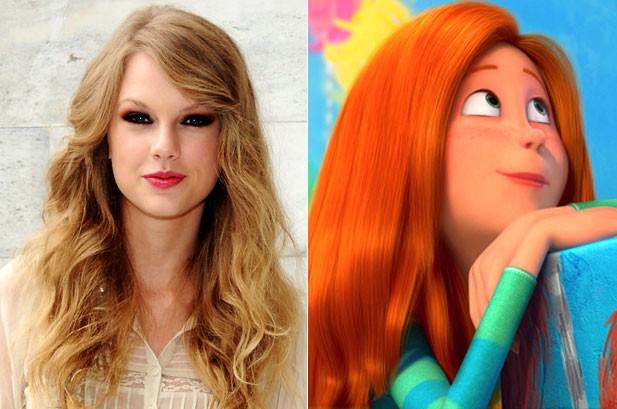 Taylor Swift Lends Her Voice To Dr Seuss The Lorax Film Billboard