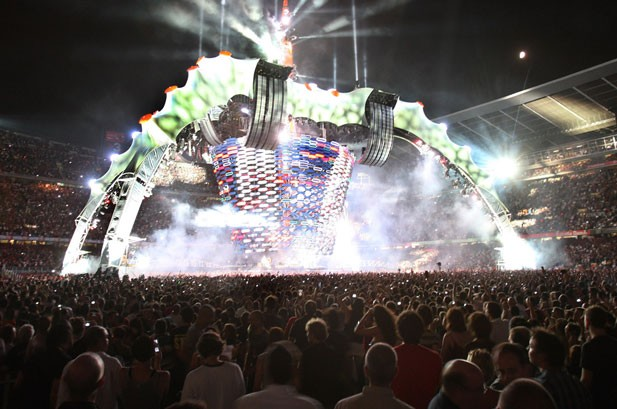 U2 to Sell 360 Tour 'Claws' As 'Permanent Venues'