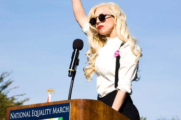 Lady Gaga to Rally in Maine Against 'Don't Ask, Don't Tell'