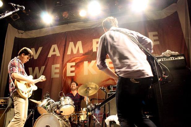 Vampire Weekend Lands First No. 1 Album