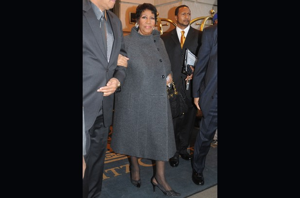 Aretha Franklin Performs at 69th Birthday Party