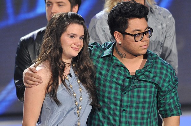 Eliminated 'Idol' Andrew Garcia Brushes Off Criticism