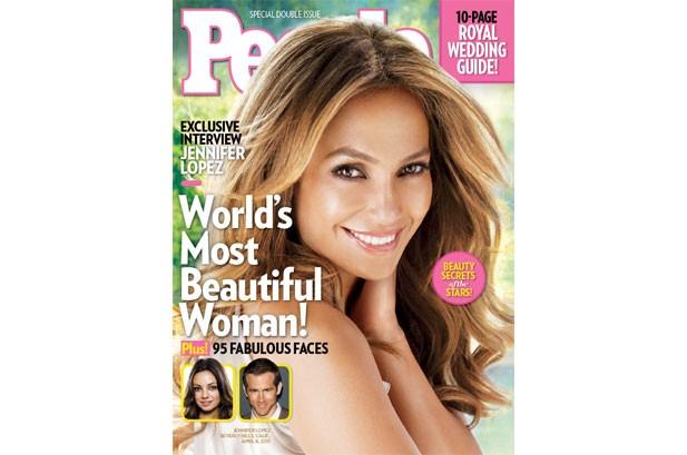 Jennifer Lopez Named People's Most Beautiful Woman