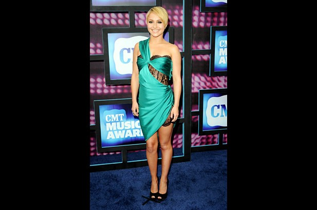 Carrie Underwood Takes Top Prize At CMT Awards
