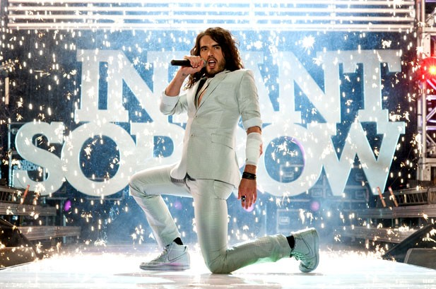 Russell Brand Is A Man of Infant Sorrow