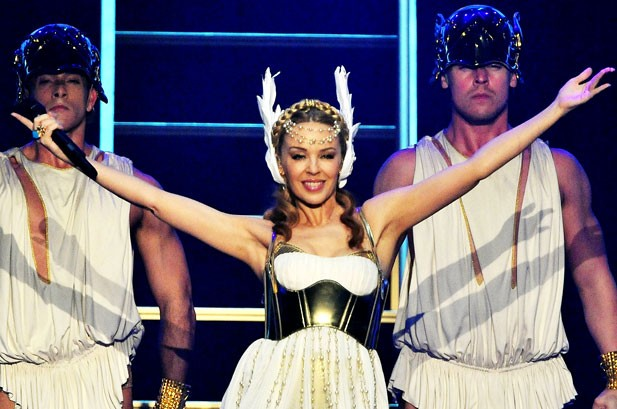 Kylie Minogue 'Grateful' For Latest Dance/Club Play Songs No. 1