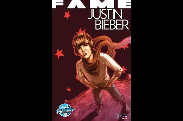 Justin Bieber Comic Book to Track His Rise to 'Fame'