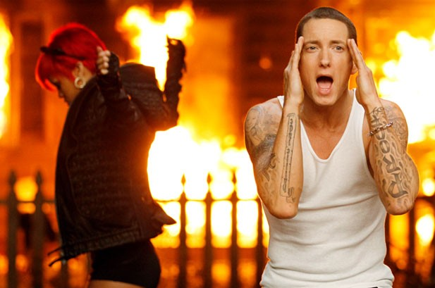 Eminem and Rihanna Still No. 1 on Hot 100, Cee Lo's 'F**k You' Debuts