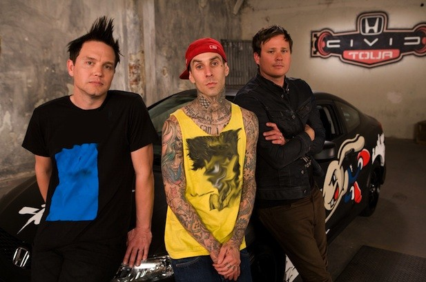 Blink-182 Stirs Social 50 Chart With 'Up All Night' Video Debut