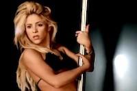 Shakira Pole Dances in 'Rabiosa' Video