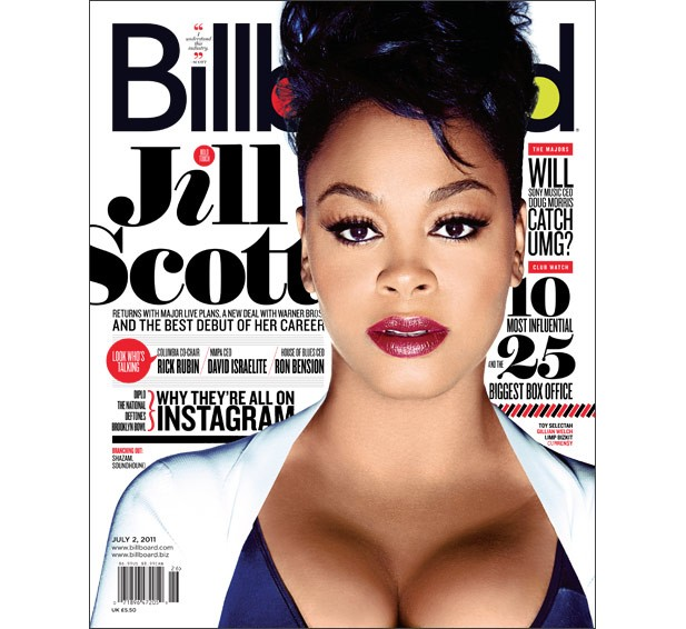 Jill Scott: The Billboard Cover Story