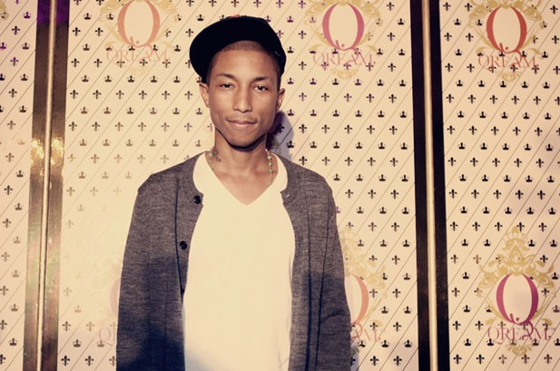 Pharrell Williams Debuts 'Qream With A Q' Liqueur in NYC