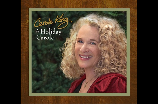 Carole King Preps First Holiday Album